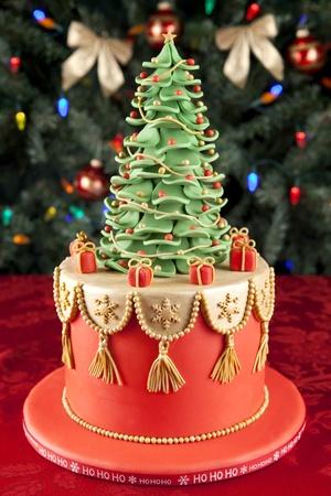 크리스마스 퐁당 케이크