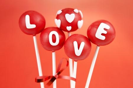 발렌타인 케이크 팝