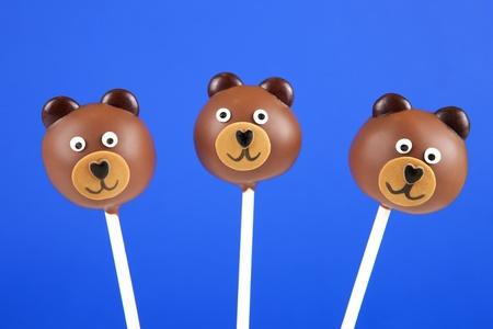 pops: Bear cake pops