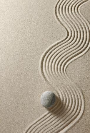 Zen stone photo
