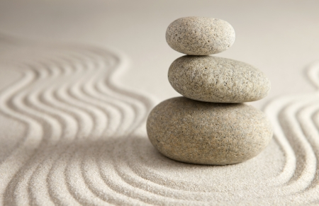 stack rock: Balance