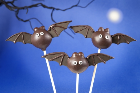 Bat cake pops Stock Photo - 15524057