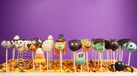 ハロウィーン ケーキ ポップスします。