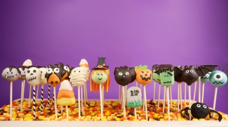 Halloween cake pops Stock Photo - 15628241