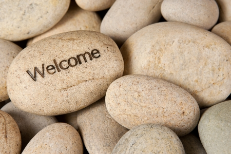 Welcome stone