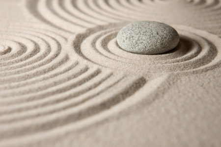 zen rocks: Zen garden