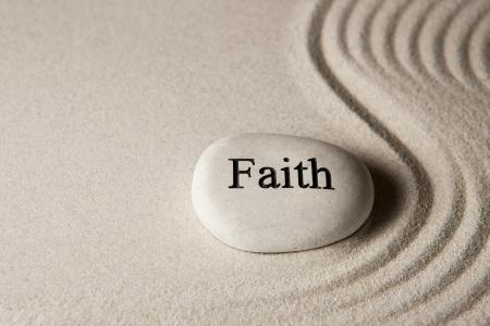 contemplation: Faith Stock Photo
