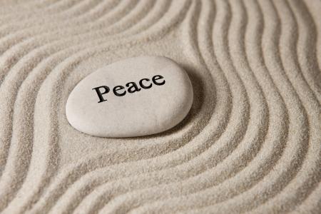 creer: Paz Foto de archivo