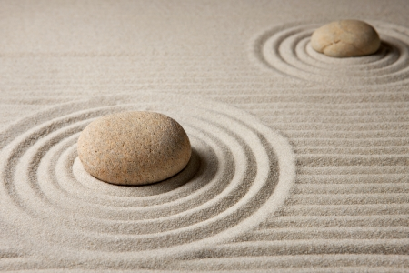 Mini zen garden Stock Photo - 17693190