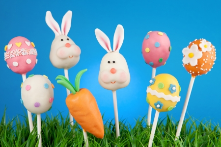 Easter cake pops photo