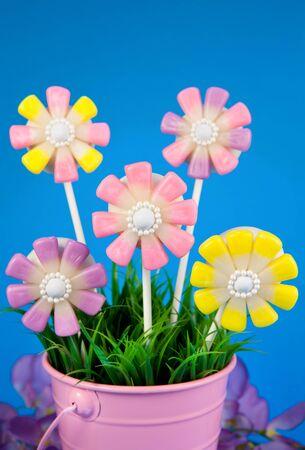 pops: Flower cake pops