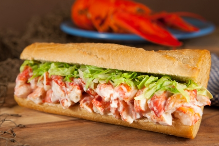 roll up: Lobster sub
