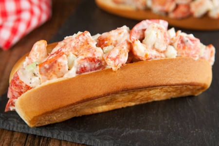 Lobster roll Stock Photo - 23115501