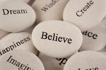 Inspirational stones photo