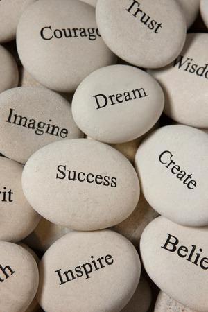 believe: Piedras Inspirational