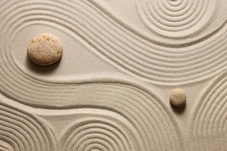 zen stones: Jard�n Zen