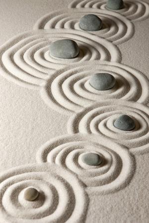 lineas verticales: Piedras Zen