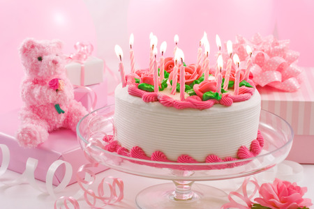 Birthday cake Banque d'images