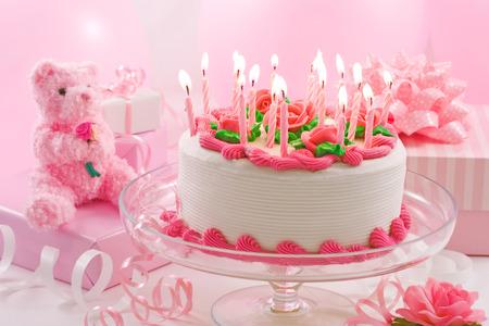 Tort urodzinowy Zdjęcie Seryjne