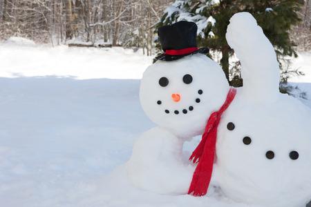 Snowman Foto de archivo