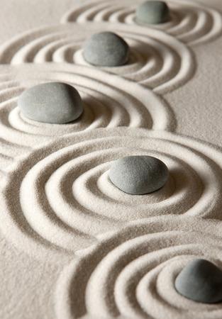 zen attitude: Pierres Zen
