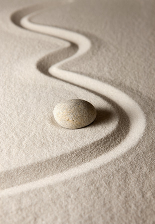 Zen rock Stock Photo
