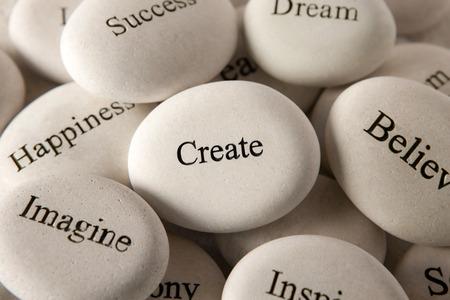 Inspirational stones - Create