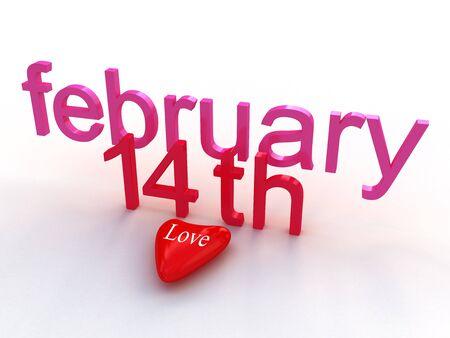 february: Valentens Day, february 14 th