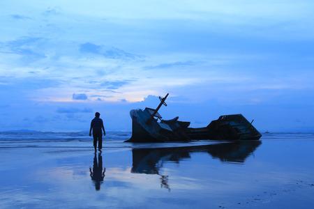 Kedu Beach, Kalianda, Lampung Foto de archivo