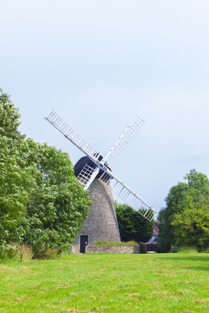 Scenic view at windmill in New Bradwell area, Milton Keynes