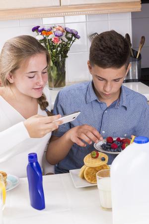 Free teens making breakfast 1