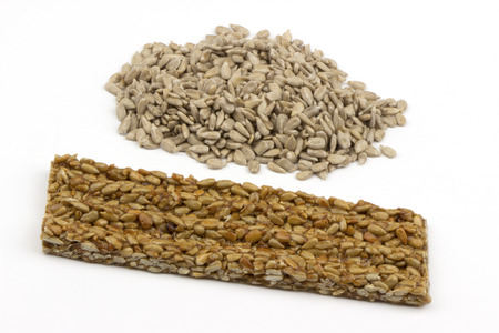 semillas de girasol: Barras de miel con semillas de girasol.