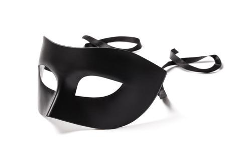 mascara de carnaval: Imagen de la máscara de carnaval aisladas sobre fondo blanco.