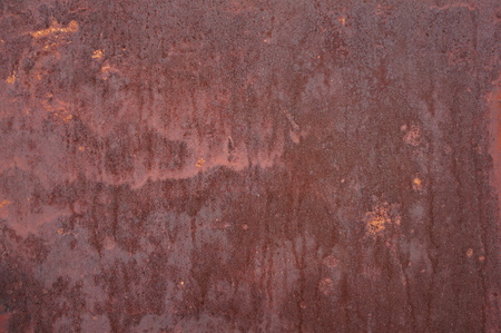Rusty patterns on iron