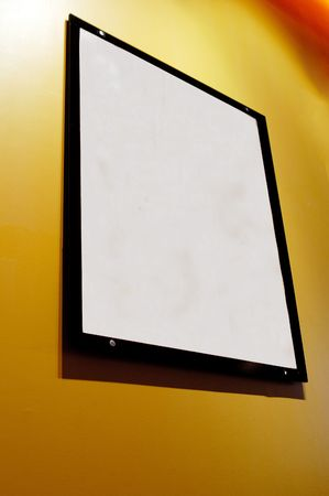 blank picture frame Stock Photo - 444292