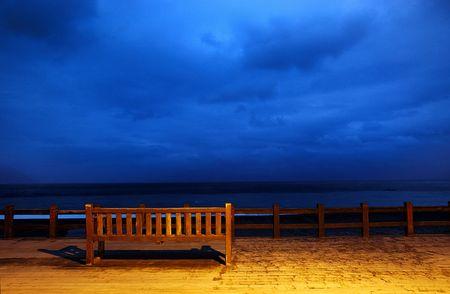 beach,bench photo