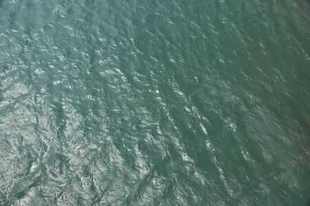 bird view: sea water surface