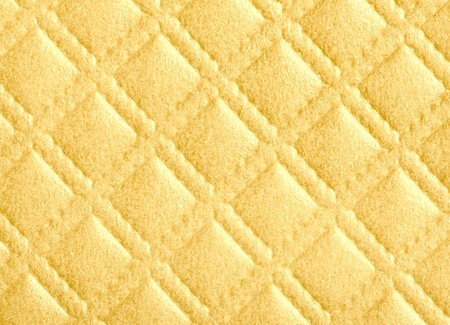 detail of  diamond pattern texture in yellow photo
