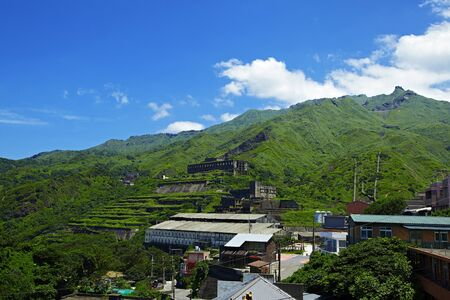 old mining building: Shuinandong Smelter of  gold museum park