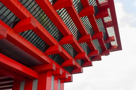 china art: Shanghai, China,  June, 6th, 2013 : China  Art Museum Extirior view