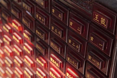 safty: kaohsuing, Taiwan, Janurary, 30th,2013, Mazu Temple and detail,Kaohsuing, Taiwan Editorial