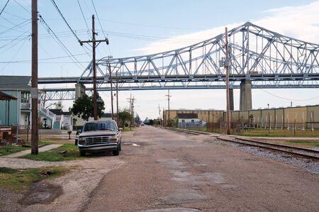 Algiers, a suburb of New Orleans 版權商用圖片
