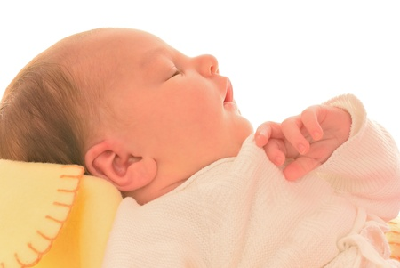 newborn sleeps Stock Photo - 13801911