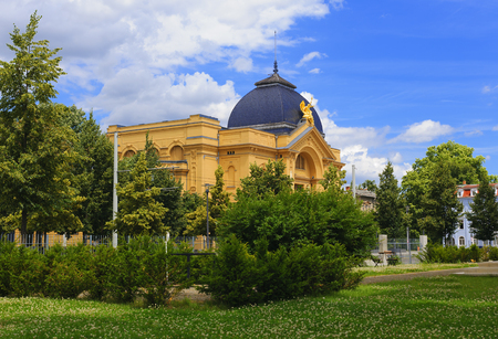 princely: The princely theater building in Gera Stock Photo