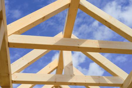 a new built truss