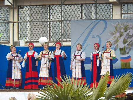 annexation: Celebrating the anniversary of the annexation of Crimea to Russia, Gala Concert