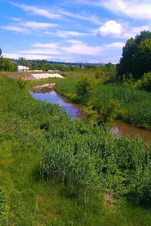 nostalgia: Nostalgia on the river Lugan