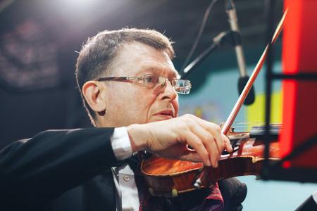 MINSK, BELARUS.JULY 29, 2017. Symphonic orchestra performance