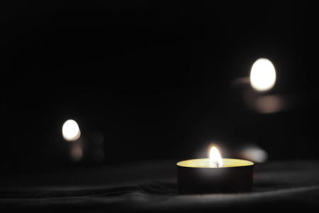Memorial Day International Holocaust Remembrance Day Looking at the candle you remember the dead