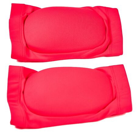 Coral knee pads for leg protection in rhythmic gymnastics